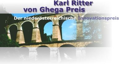 Karl Ritter von Ghega-Preis - NÖ Innovationspreis